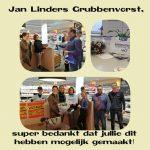 Eindbedrag Jan Linders fonds actie EUR 4601,-